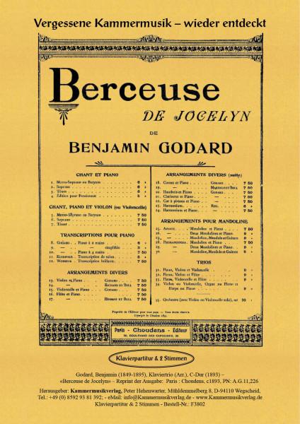 Godard, Benjamin – Klaviertrio (Arr.), C-Dur