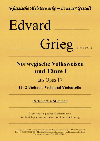 Grieg, Edvard – Norwegische Volksweisen und Tänze - Band I