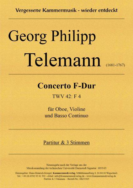 Telemann, Georg Philipp – Concerto F-Dur (TWV 54: F 2)