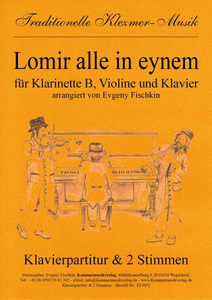Lomir alle in eynem – Klezmer-Musik