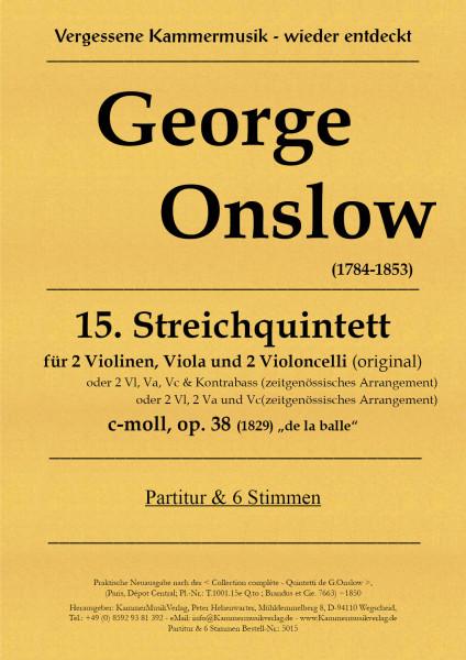 Onslow, George – Streichquintett Nr. 15