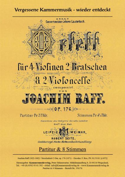 Raff, Joachim – Streichoktett, C-Dur, op. 176
