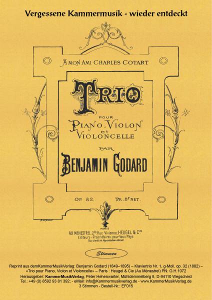 Godard, Benjamin – Klaviertrio Nr. 1, g-Moll, op. 32