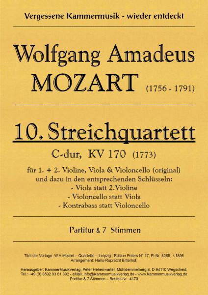 Mozart, Wolfgang Amadeus – Streichquartett Nr. 10