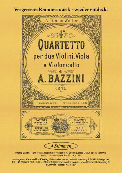 Bazzini, Antonio – Streichquartett Nr. 4