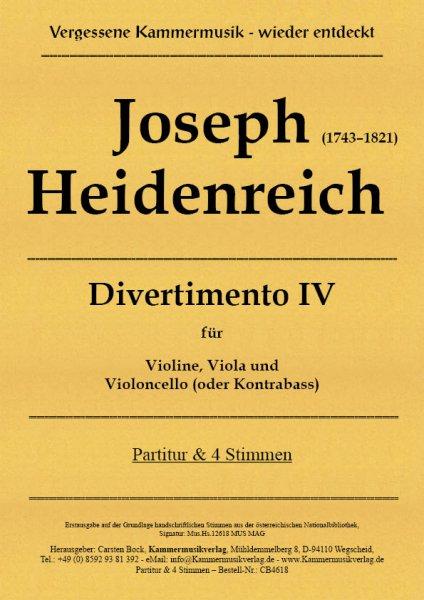 Joseph Heidenreich – Divertimento IV
