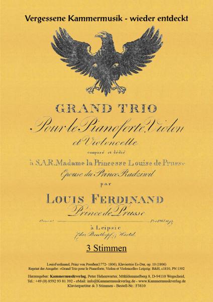 Louis Ferdinand, Prinz von Preussen – Klaviertrio