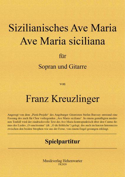 Kreuzlinger Franz – Sizilianisches Ave Maria Ave Maria siciliana