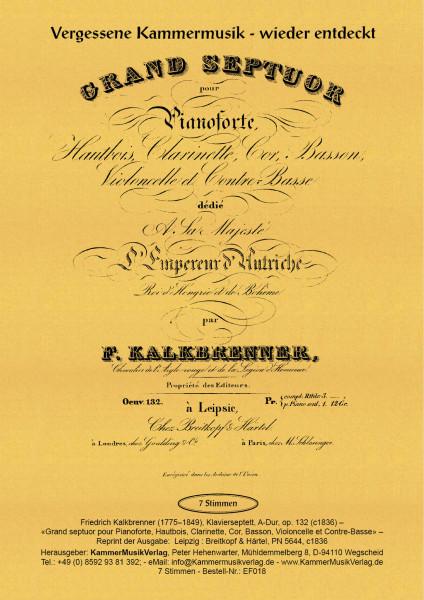 Kalkbrenner, Friedrich – Klavierseptett, A-Dur, op. 132