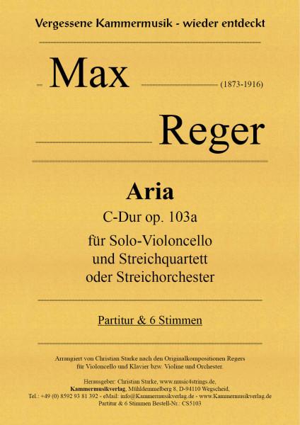 Reger, Max – Aria C-Dur op. 103