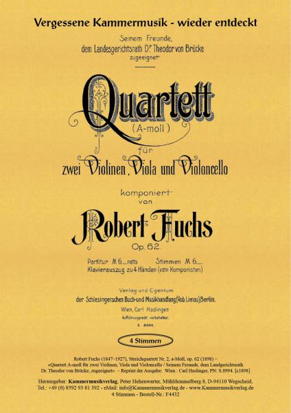 Fuchs, Robert – Streichquartett Nr. 2
