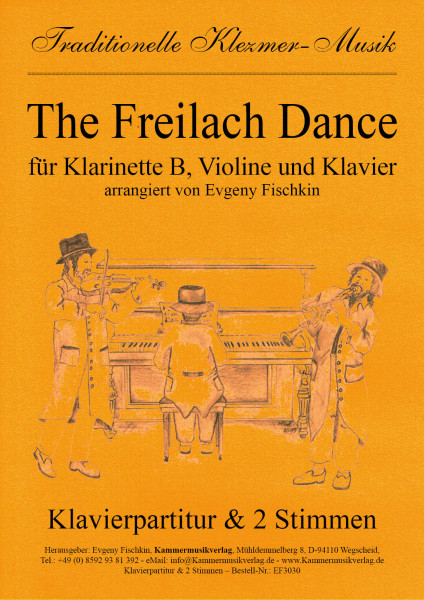 The Freilach Dance – Klezmer-Musik