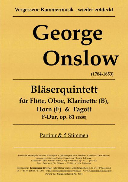 Onslow, George – Bläserquintett
