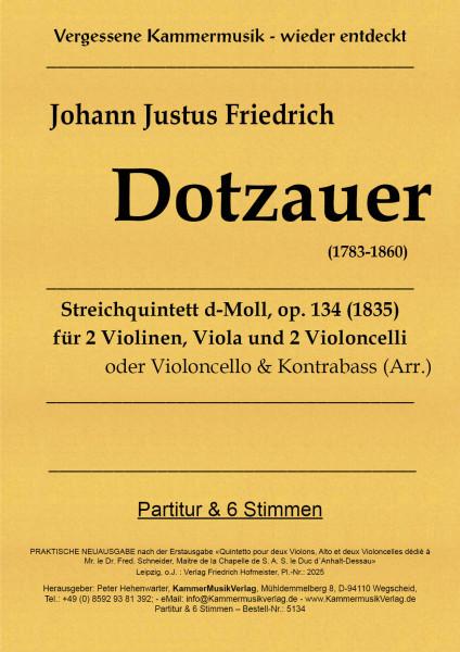 Dotzauer, Justus Johann Friedrich –Streichquintett