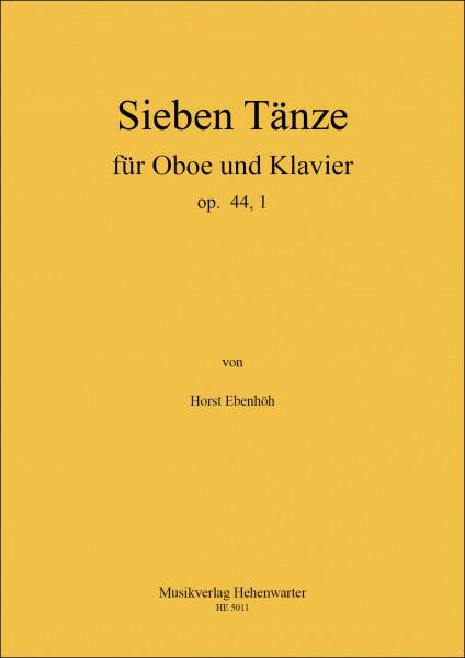 Ebenhöh, Horst – 7 Tänze für Oboe und Klavier op. 44,1