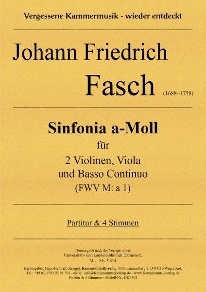 Fasch, Johann Friedrich – Sinfonia a-Moll (FWV M: a 1)