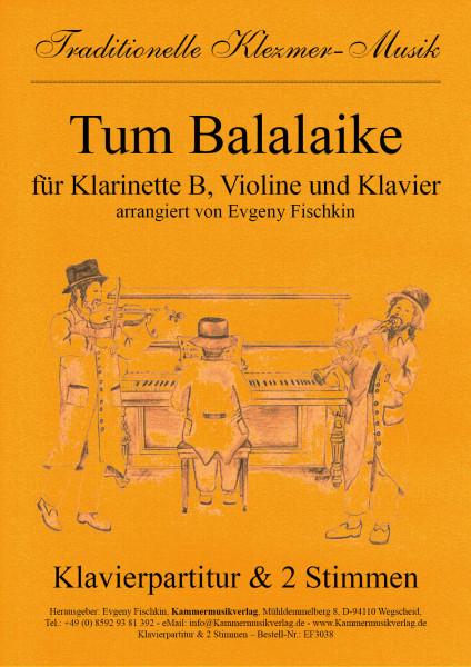 Tum Balalaike – Klezmer-Musik