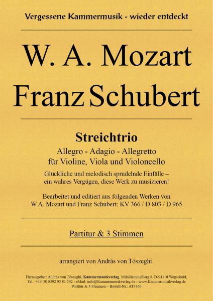 W. A. Mozart - Franz Schubert – Streichtrio