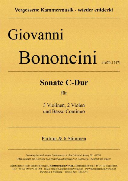 Bononcini Giovanni – Sonate C-Dur