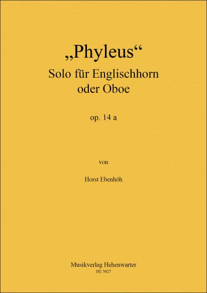 Ebenhöh, Horst – Phyleus Solo für Englischhorn, op. 14 a