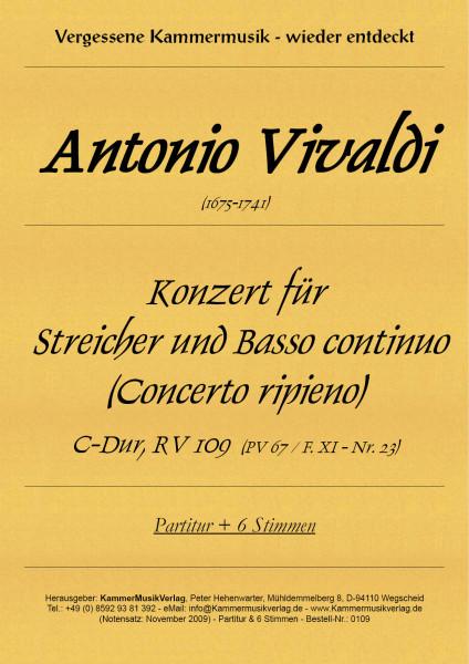 Vivaldi, Antonio – Konzert für Streicher und B.c.