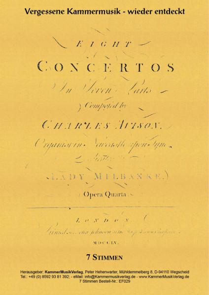 Avison, Charles – Concerti grossi Nr. 13-20