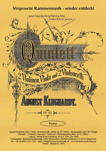 Klughardt, August – Streichquintett