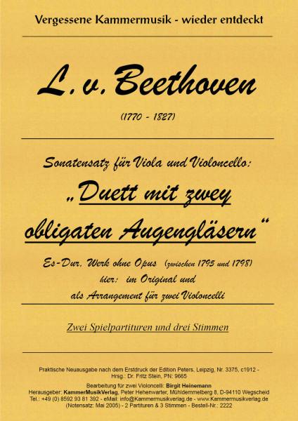 Beethoven, Ludwig van – Streichduo, Es-Dur