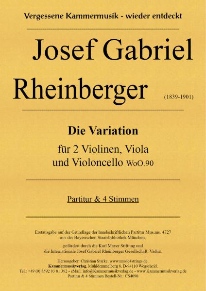 Rheinberger, Josef Gabriel – Die Variation WoO.90