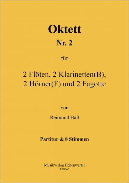 Haß, Reimund – Oktett Nr. 2