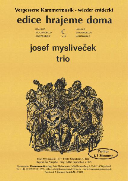 Mysliveček, Josef – Streichtrio