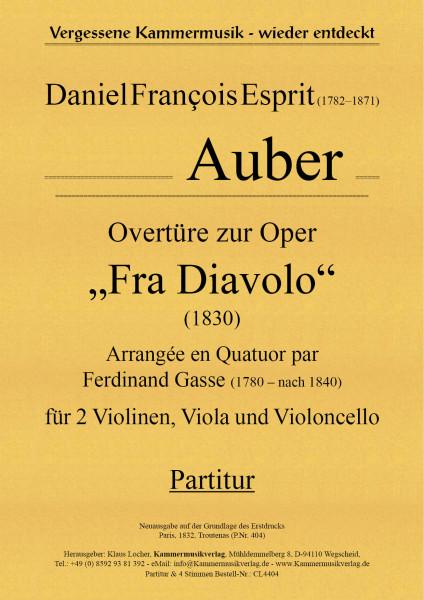 "Auber, Daniel Francois Esprit – Overtüre zur Oper ""Fra Diavolo"""