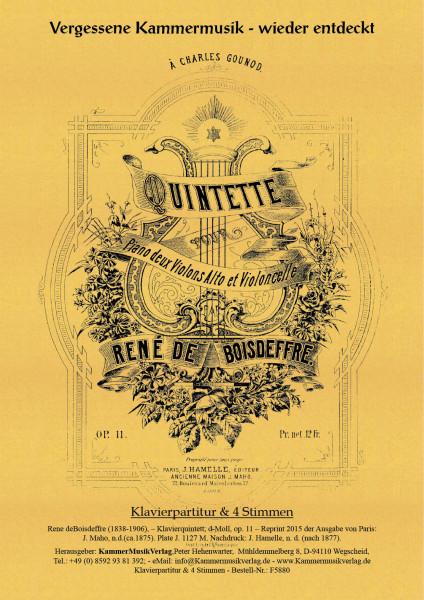 Boisdeffre, René de – Klavierquintett