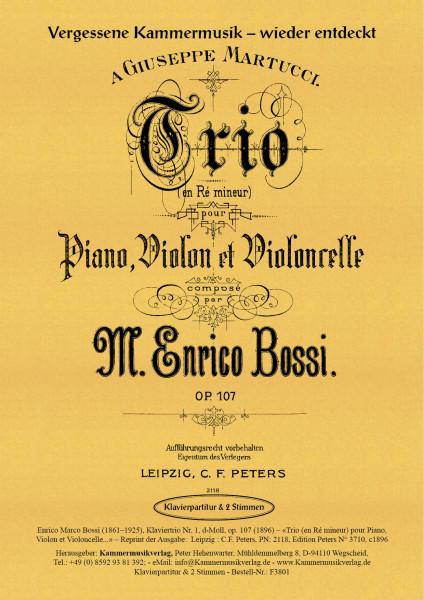 Bossi, Enrico Marco – Klaviertrio Nr. 1, d-Moll, op. 107