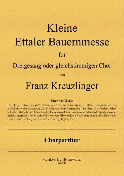 Kreuzlinger Franz – Kleine Ettaler Bauernmesse