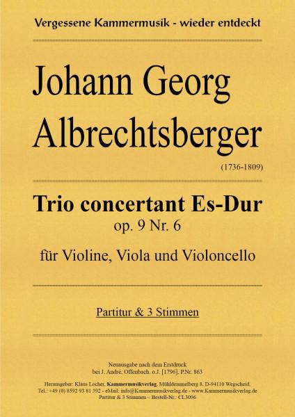 Albrechtsberger, Johann Georg – Trio concertant Es-Dur