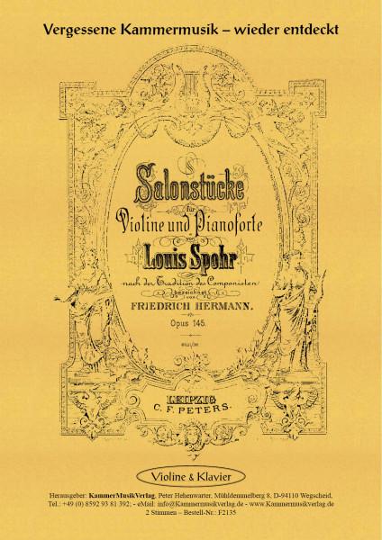 Spohr, Louis – Sechs Salonstücke, op. 145