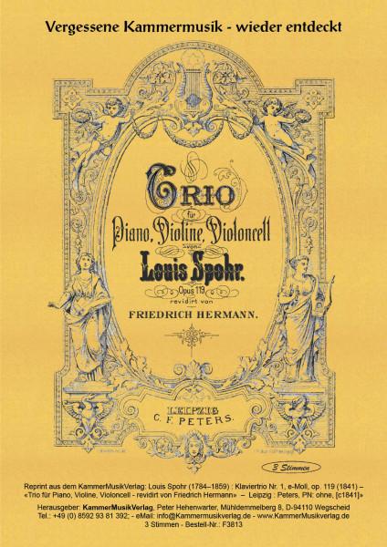 Spohr, Louis – Klaviertrio Nr. 1, e-Moll, op. 119