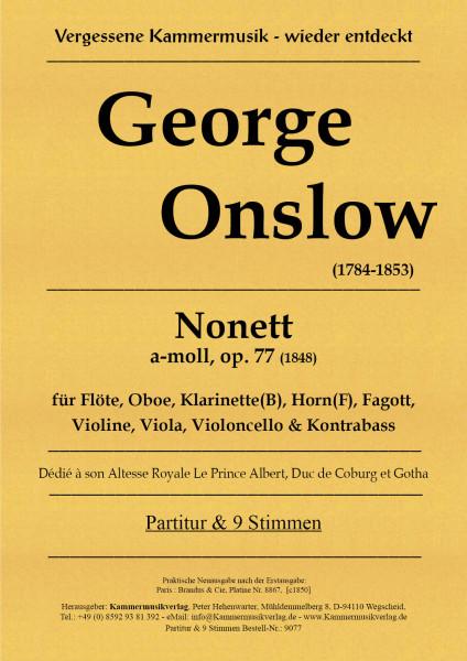 Onslow, George – Bläser-Streicher-Nonett