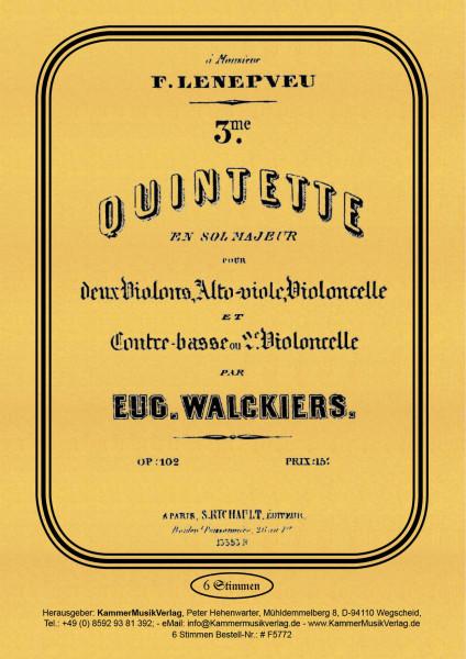 Walckiers, Eugéne – Streichquintett Nr. 3