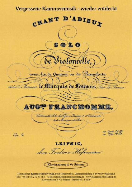 Franchomme, Auguste – Solo-Vc mit Klavierbegleitung, C-Dur, op. 9
