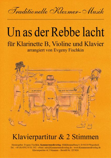 Un as der Rebbe lacht – Klezmer-Musik