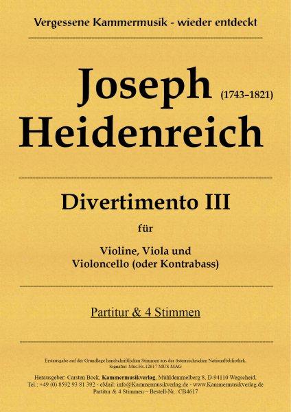 Joseph Heidenreich – Divertimento III