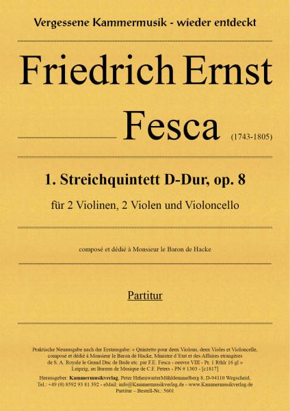 Fesca, Friedrich Ernst – Streichquintett Nr. 1