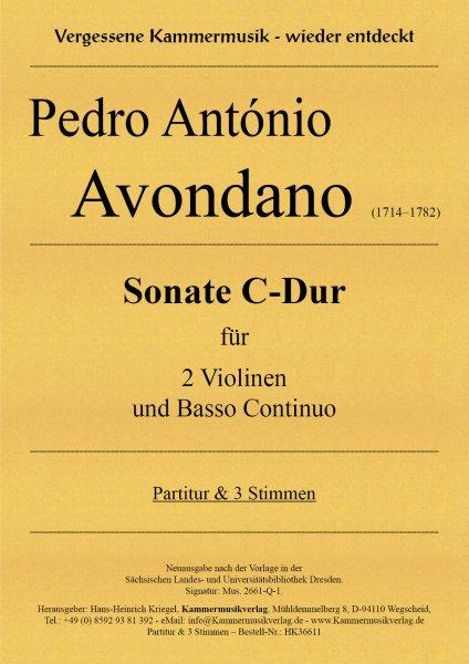 Avondano, Pedro António – Sonate C-Dur
