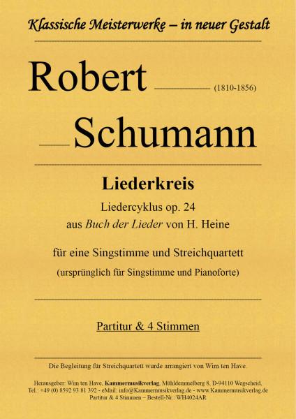 Schumann, Robert – Liederkreis - Liedercyklus, op. 24