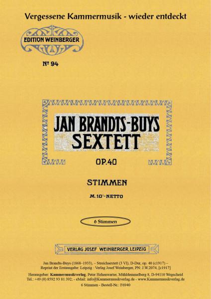 Brandts-Buys, Jan – Streichsextett (3 Vl)
