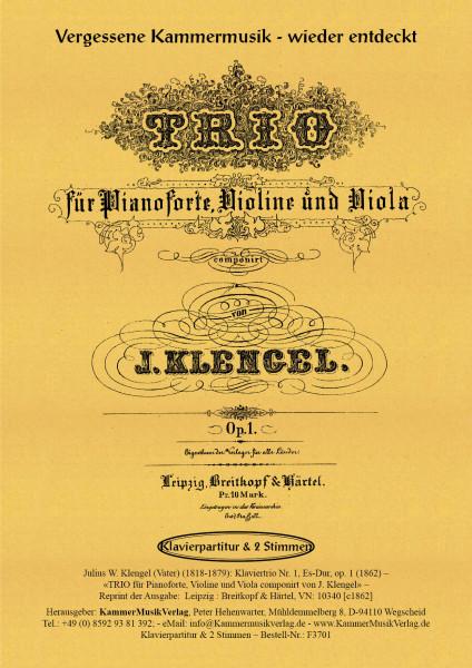 Klengel, Julius Wilhelm (Vater) – Klaviertrio Nr. 1, Es-Dur, op. 1