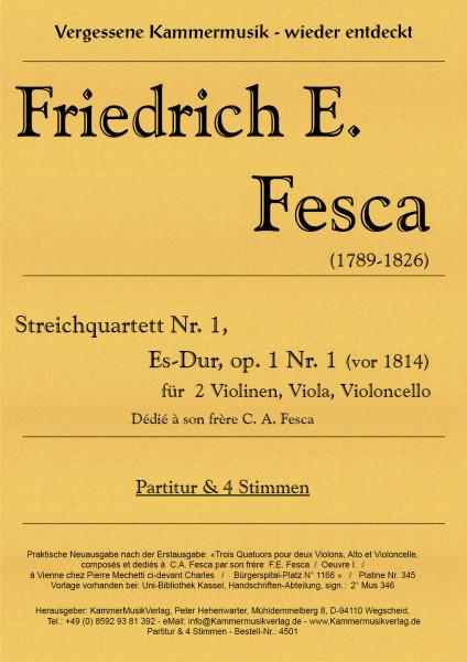 Fesca, Friedrich Ernst – Streichquartett Nr. 1, Es-Dur, op. 1-1