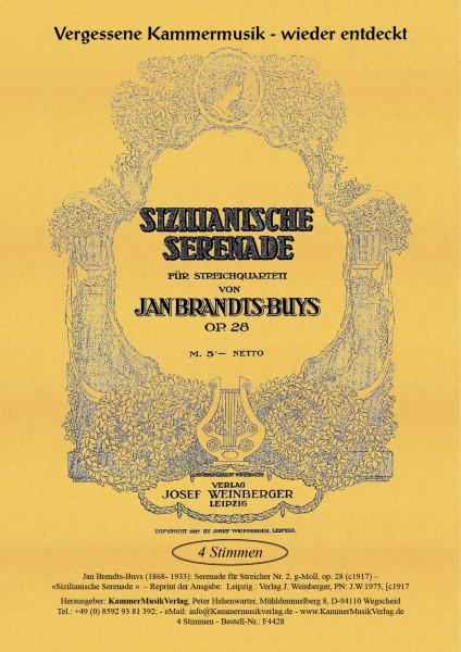 Brandts-Buys, Jan – Serenade für Streicher Nr. 2